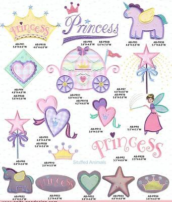 Baby Princess Collection  ~ Designs In Machine Embroidery On Cd