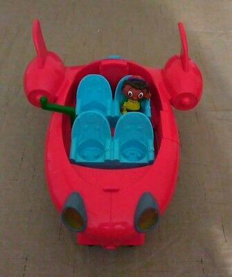 Little Einsteins Pat Pat Rocket W/ Lights and Sound w/ Quincy  No cover