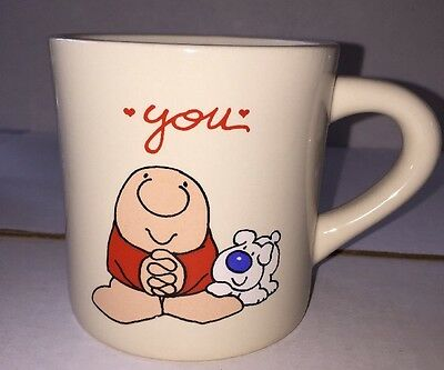 "Ziggy ""You"" Mug Designers Collection American Greetings 1985 Made in Japan"