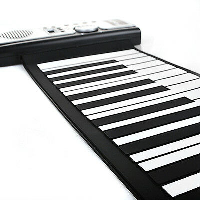61 key Roll Up Piano E-Klavier Keyboard Midi Rollpiano mit Fortgeschrittene