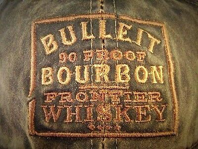 Bulleit Bourbon Baseball Hat Cap One Size fits Most New Old Stock