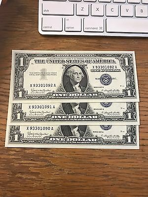 Paper Money Lot Red Seal Blue Seal $1 $2 $5 And $10's 111.00 Face