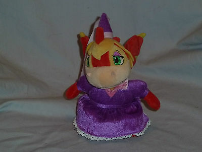 """7"""" Neopets LIMITED ROYAL GIRL SCORCHIO plush NO VIRTUAL KEYQUEST CODE (J)"""
