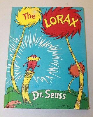 Dr. Seuss ~ The Lorax ~ 1971 First Edition ~ Book Club Edition ~ Lake Erie