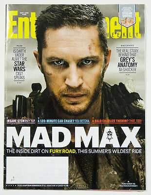 Entertainment Weekly Magazine Mad Max Fury Road Star Wars Scream Queens