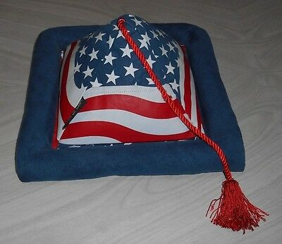 PEERAMID BOOK REST by Hog Wild electronics, etc. Red, White & Blue American Flag
