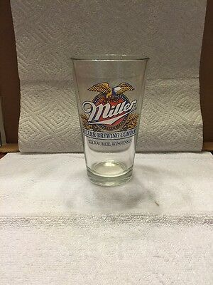 Miller Brewing Company Beer Glass