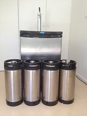 Home Brew Heaven.  Kegerator Beer Fridge Kegs Beer Tap Mykegonlegs Co2 Bottle