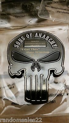 Opie Winston Collectors Limited Edition Samcro Custom Coin Sons Of Anarchy Soa