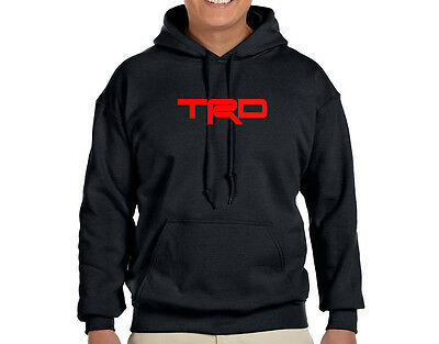 TRD TOYOTA Racing Development HOODIE (SIZE: S-2XL) #115 <FREE SHIPPING>