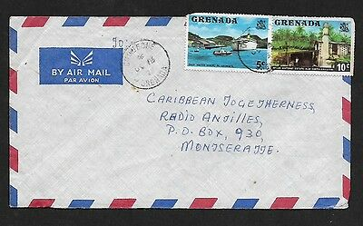 (111Cents) Grenada 1975 Cover to Montseratte