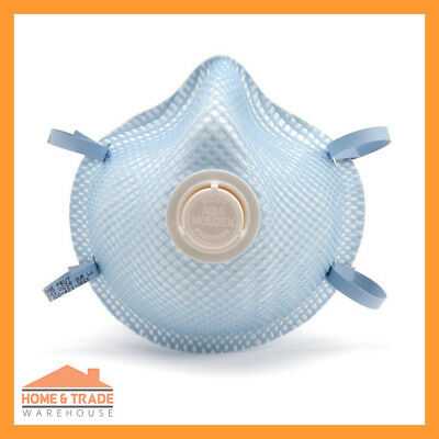 P2 Particulate Respirator MOLDEX 2300 Disposable Safety Dust Mask with Valve x20