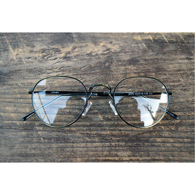 1920s Vintage oliver retro eyeglasses 20R50 Anti Gold round frames kpop peoples
