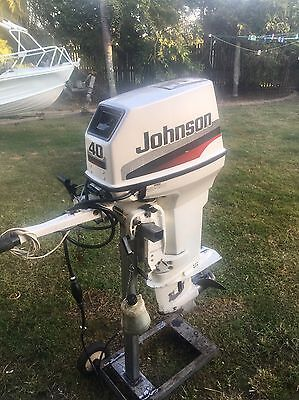 40hp Johnson Outboard