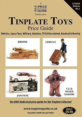 Tinplate Toys Price Guide 1st edition - incl Bing, Hornby, Mettoy, Wells - NEW