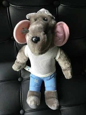 "Roland Rat Superstar Toy Vintage 1980's Plush Soft Toy 15"" Tall String Vest 80s"