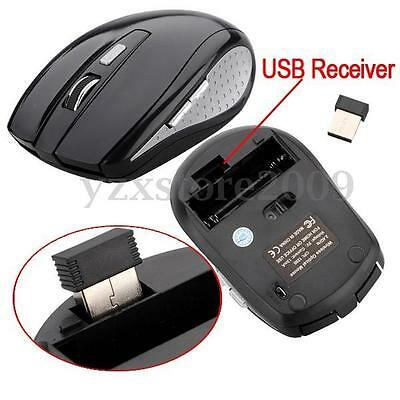 MOUSE 2.4GHz WIRELESS USB 2.0 OPTICAL1200DPI SENZA FILI  FOR PC LAPTOP NOTEBOOK