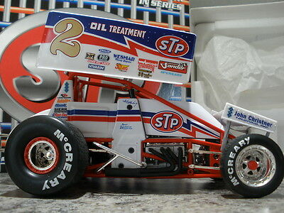 Gmp Andy Hillenburg 1997 #2 Stp World Of Outlaws 1/18 Winged Sprint Car 1Of 3504