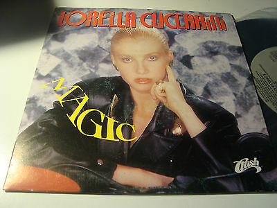 "Rar Promo Single 7"". Lorella Cuccarini. Magic. Made In Spain. Italo Disco"