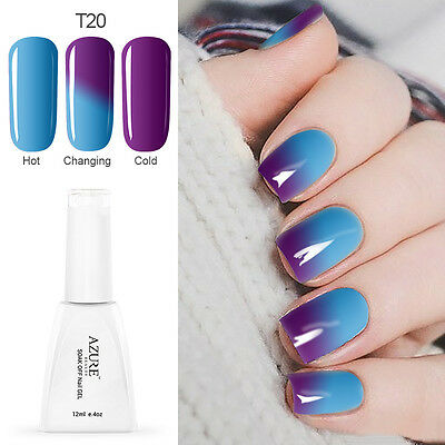 Azure Gel Nail Polish Chameleon Color Changing UV LED Soak Off Gel Polish