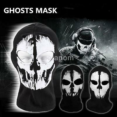 The Punisher Skull Balaclava Mask Ghost Cosplay Face Hood Halloween CS Biker