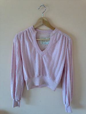 Cute LeRose 70s pink vintage matching jumper and skirt