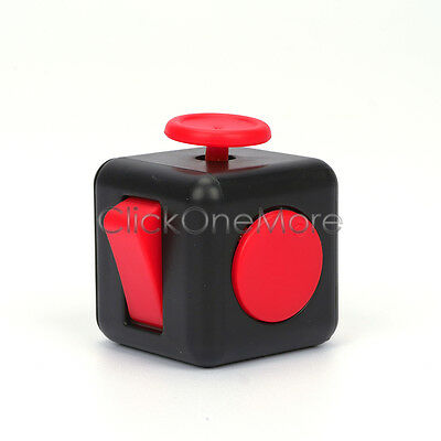 2016 Full Fidget Cube 6-side Toy Anxiety Stress Attention Relief Xmas Gift