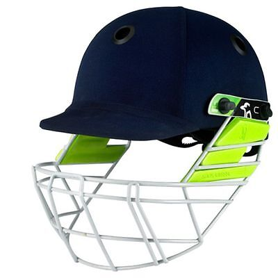 Kookaburra Pro 250 Cricket Helmet Protective Headwear Head Protection Navy