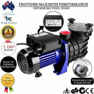 Swimming Pool Pump 600W Spa Pump Filter Salt Water Chlorine In Above Ground New