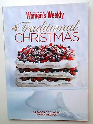 AUSTRALIAN WOMEN'S WEEKLY COOKBOOK * TRADITIONAL CHRISTMAS   RECIPES *94 pages