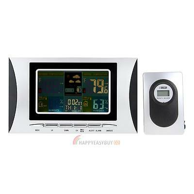 Wireless Weather Station Indoor and Outdoor Digital Temperature Humidity 433MHz