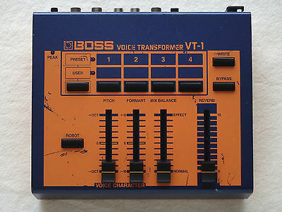 BOSS VT-1 Voice Transformer Vocal Effects Vocoder