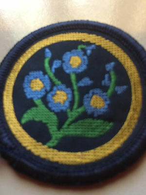 Girl Guides / Scouts Patrol Flower 4