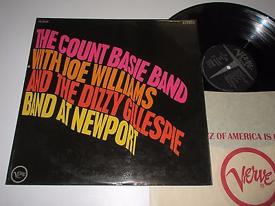 LP/THE COUNT BASIE BAND and JOE WILLIAMS AT NEWPORT/Verve V6-8560