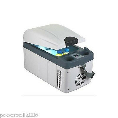 White 20 L Of Rapid Cooling Dual Purpose Car/Home Cold And Warm Refrigerator
