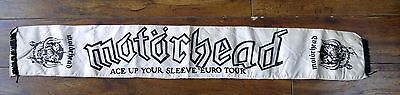 Vintage MOTORHEAD Ace Up Your Sleeve Euro Tour 1980 Concert Scarf