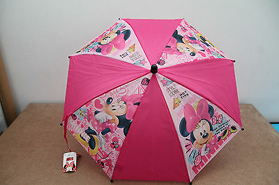 Ombrello IDEA REGALO Personaggi DISNEY Topolina MINNIE MOUSE  Rosa Fuxia
