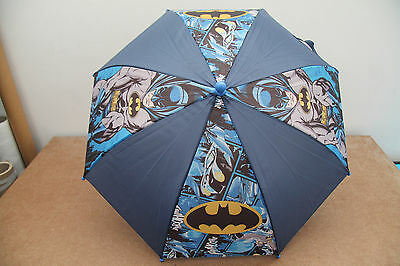 Ombrello IDEA REGALO Personaggi DISNEY SUPERMAN  Stampa Blu Nero Giallo