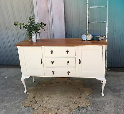 Sideboard buffet French provincial dining Hamptons chic country style baltic