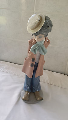 Lladro #5057 - CLOWN STANDING With Violin