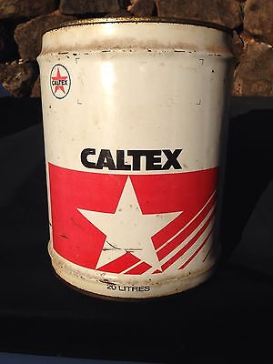 Vintage Oil Drum Caltex