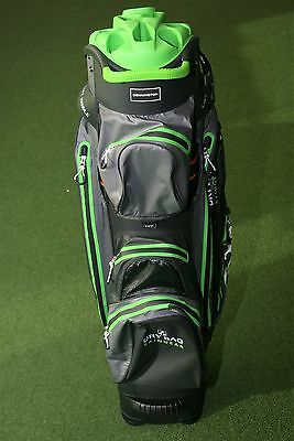 Bennington QO14 Waterproof (schwarz / grau / lime) Cart Bag