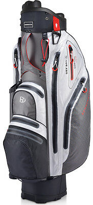 Bennington QO9 Lite Waterproof (grau / schwarz / weiß) Cart Bag