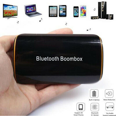 Bluetooth Wireless Stereo Transmitter Receiver 3.5mm AUX RCA Audio Music Adapter
