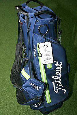 Titleist 4UP StaDry (navy / lime / weiß) Stand Bag