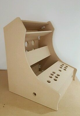 Bartop Arcade Machine - 2 Player Diy Flat Pack Kit - 12Mm Mdf