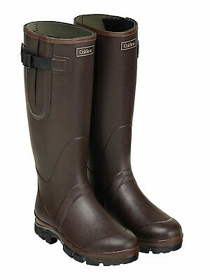 Caldene equestrian unisex westfield wellington rubber boots with neoprene lining
