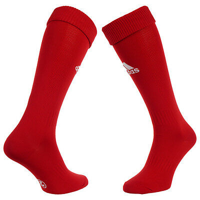 Adidas Milano Socks Training Football Socks Soccer Hockey Rugby Sports Red
