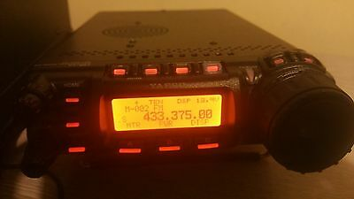 Yaesu Ft857D Widebanded From New
