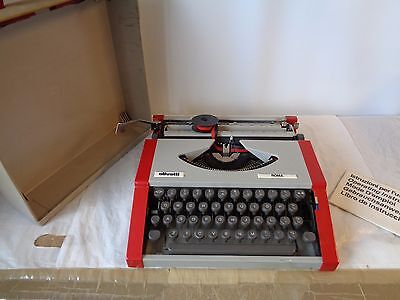 Olivetti Roma Typewriter Vintage Cased with Instructions